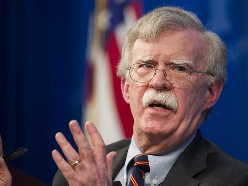 博尔顿表示将有条件撤军叙利亚。
