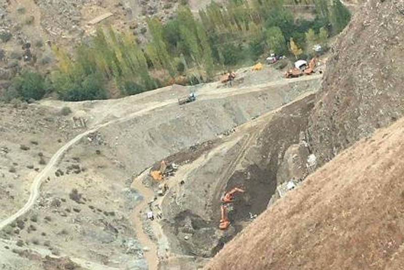 阿富汗一個金礦發生奪命意外,造成至少四十人死亡、逾十人受傷。(網圖)