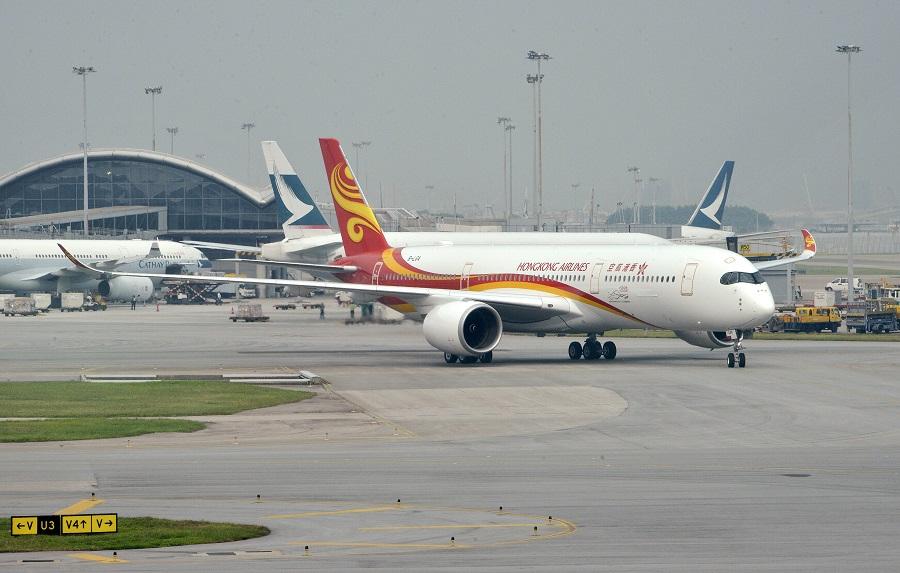 香港航空否認快將清盤。資料圖片