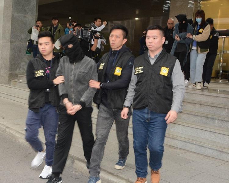 香港情侶因販毒在澳門被捕。