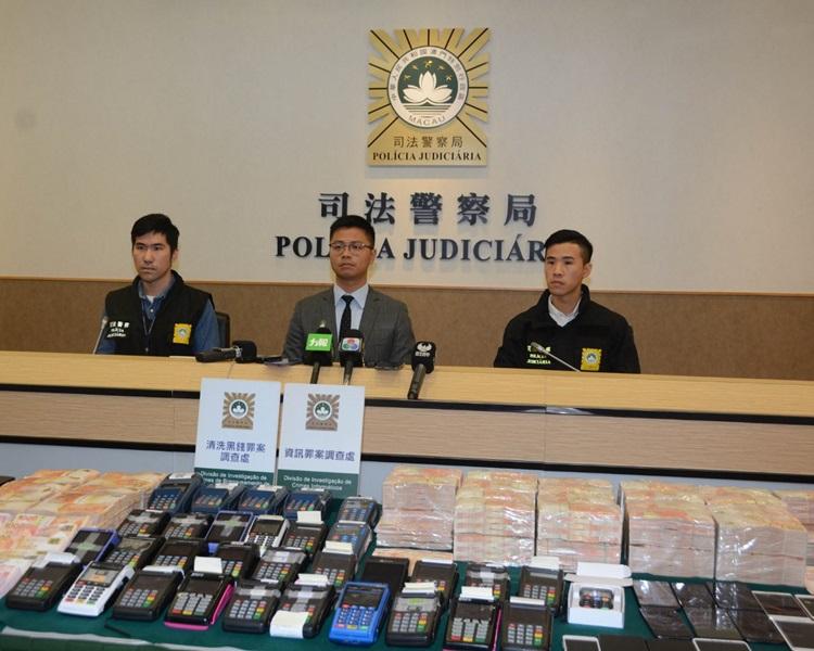 澳門破跨境刷卡洗黑錢案 拘37內地人檢3000萬元