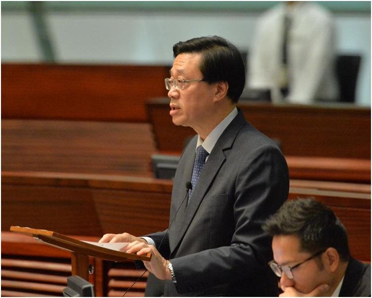 李家超指港府與廣東省相關部門一直有保持聯繫。