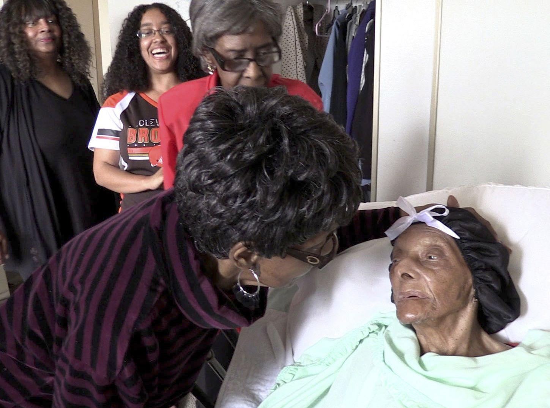 莱西布朗昨日与世长辞,享年114岁。AP