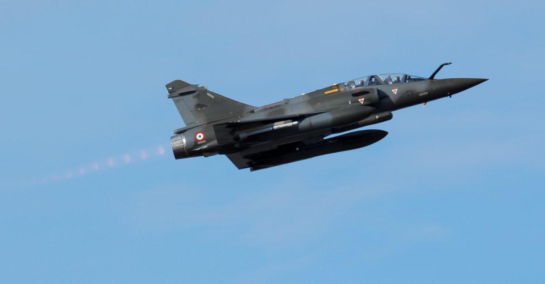 法国空军幻象2000型战斗机。网上图片