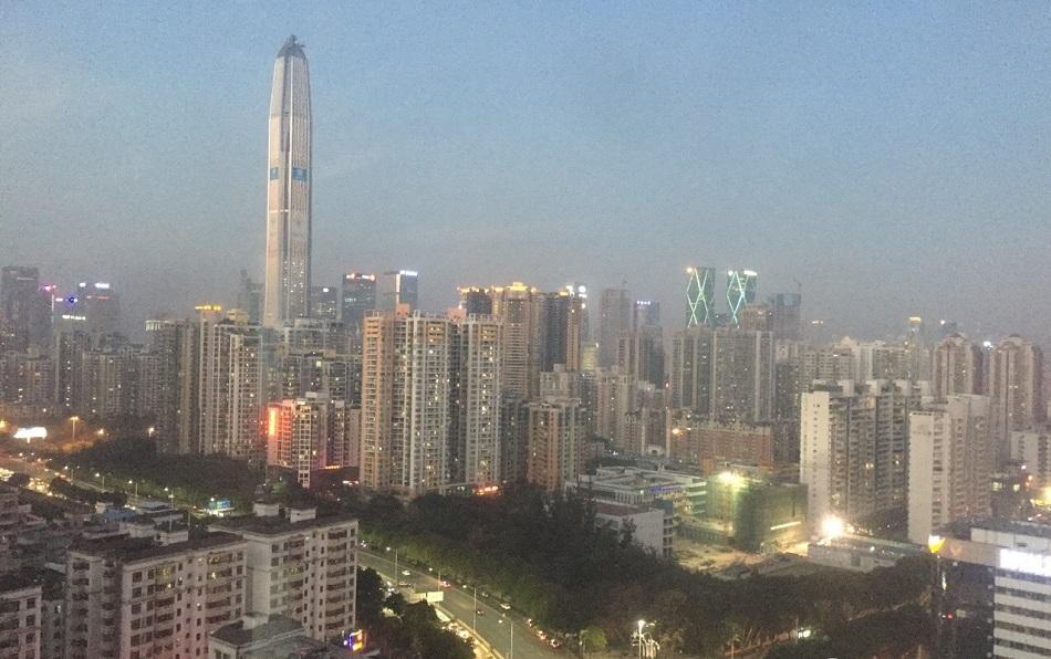 深圳多區傳出刺鼻氣體。網上圖片