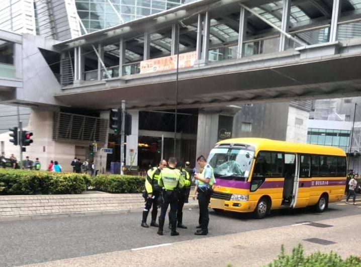 警方正在現場調查事件。網民Ho Anson圖片