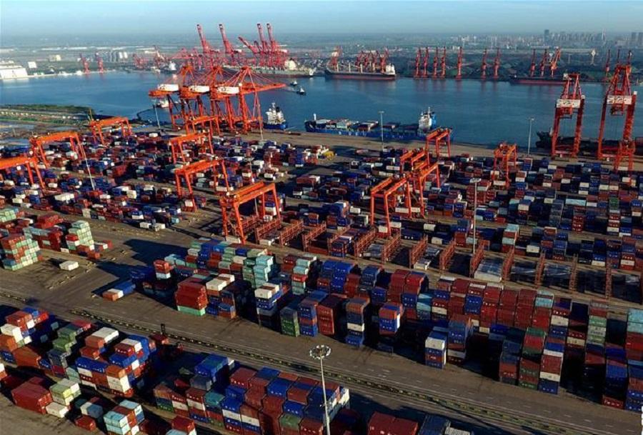 中美在北京貿易談判結束。網上圖片