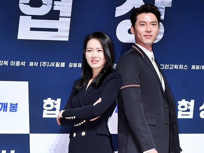 玄彬與孫藝珍去年合作拍攝電影《智命談判》。