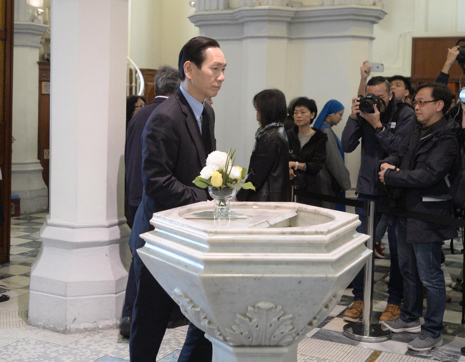 行政會議召集人陳智思出席儀式。