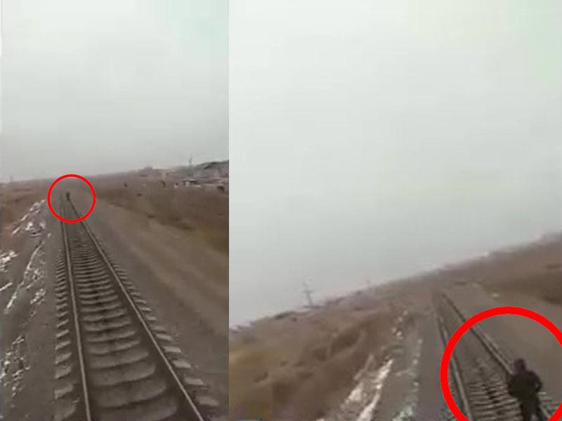烏茲別克16歲少年戴着耳機沿火車路軌步行,被火車撞飛身亡。(網圖)