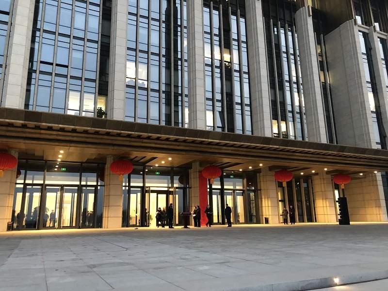 依照規劃,今後北京的中心城區將成為「首都功能核心區」。新華社圖片