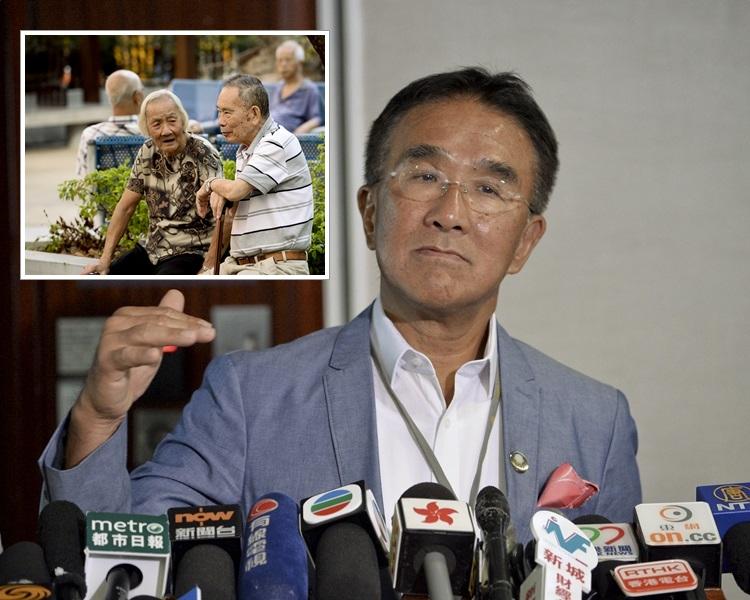 田北辰表示,可以考慮支持有關措施,但政府要調整其他援助。 資料圖片