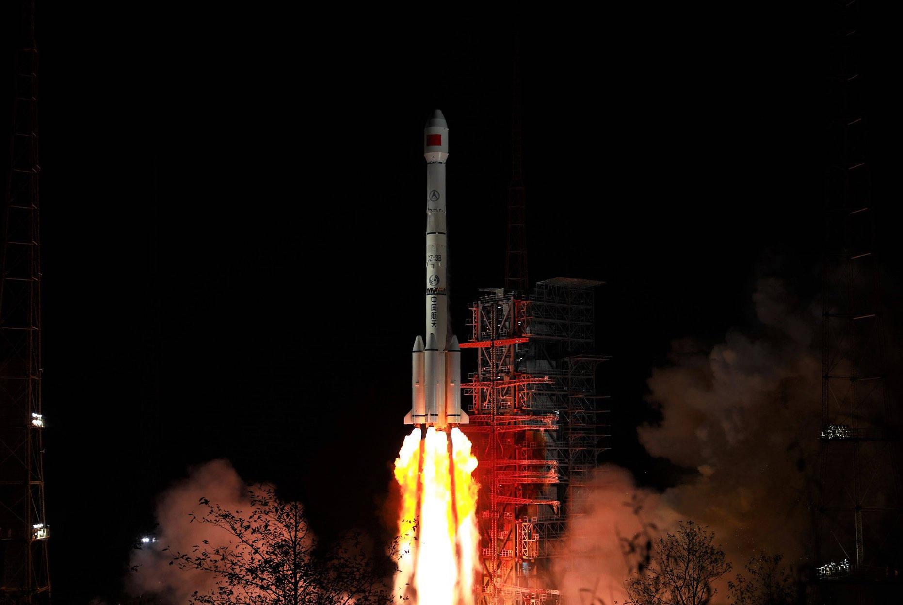 是次衛星發射是中國航天2019年首次衛星發射任務,也是中國長征系列運載火箭第298次航天飛行。新華社圖片