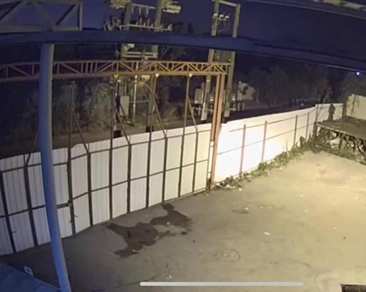 鍾先生昨晚清洗地板,發現有狗隻影子,深感靈異。鍾先生提供