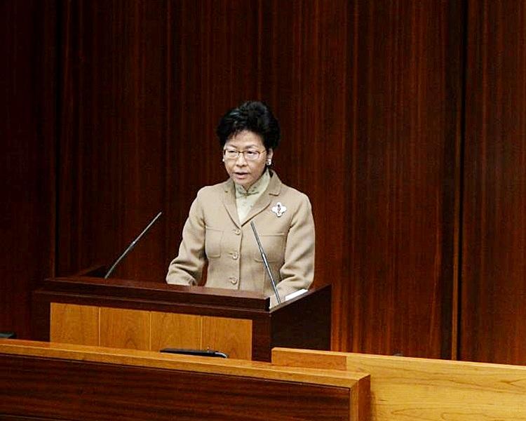 特首辦主任陳國基表示,林鄭無意擺任何人上枱。資料圖片