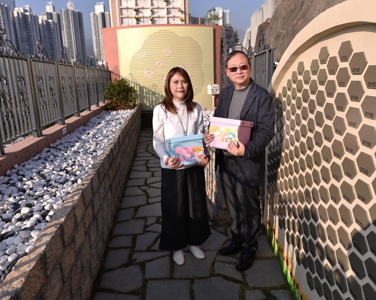 左起:華永會營運及企業傳訊主管李詠絮、行政總監麥鉅然