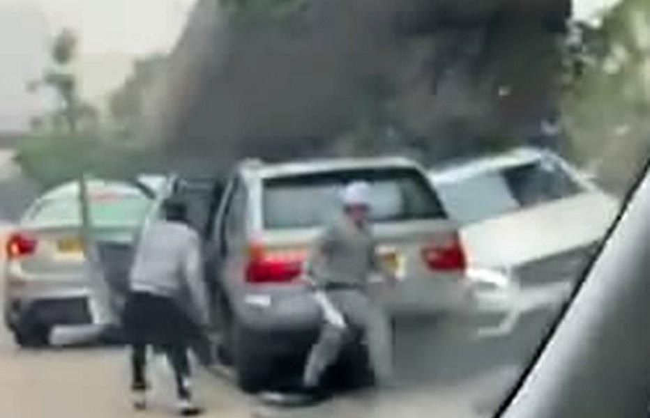 至本月5日,7名蒙面刀手在太子道東將一駕房車撞停,斬傷車內4人。資料圖片