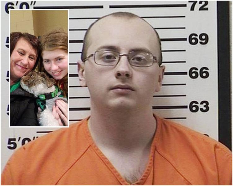 帕特森(小圖右)被克洛斯一直禁錮在一間小屋。 AP