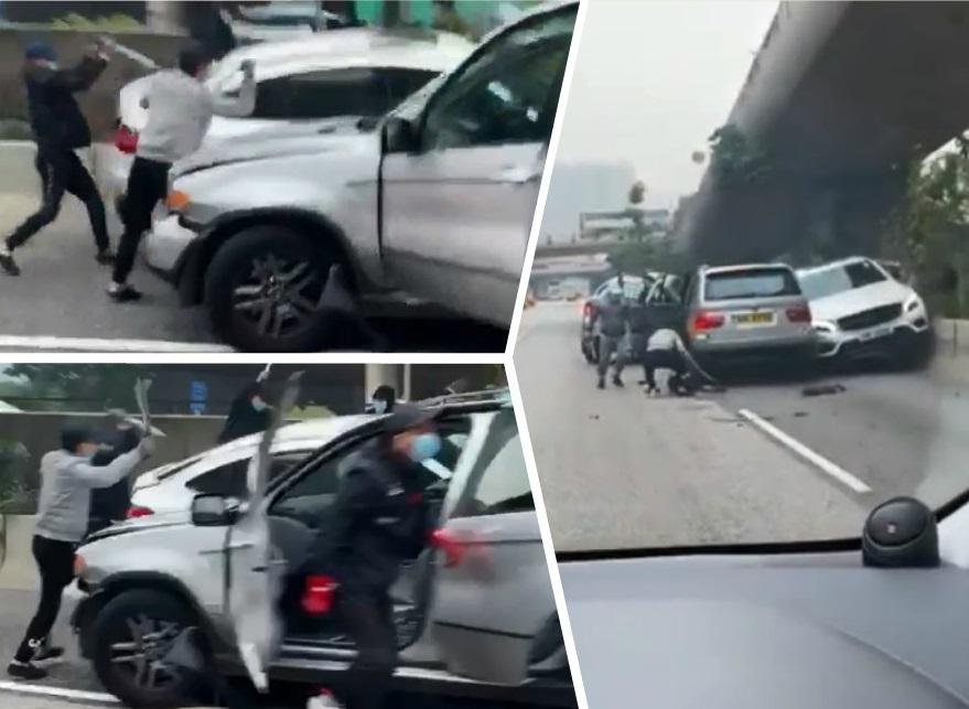 太子道東上周六有刀手落車斬人。馬路的事討論區影片截圖