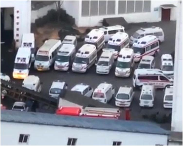 大批救援人員到場。