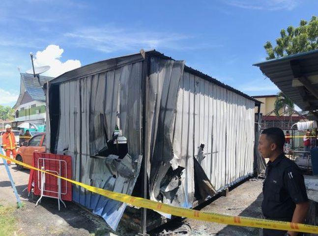 起火原因仍需进一步调查。网图