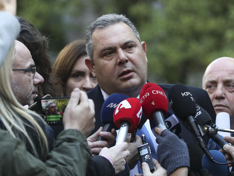 卡梅诺斯领导的「独立希腊人党」将退出联合政府。