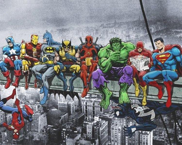 你最想化身哪一个英雄人物?网图
