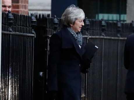 文翠珊警告,国会明天若否决脱欧协议,可能摧毁人民对政治的信任。