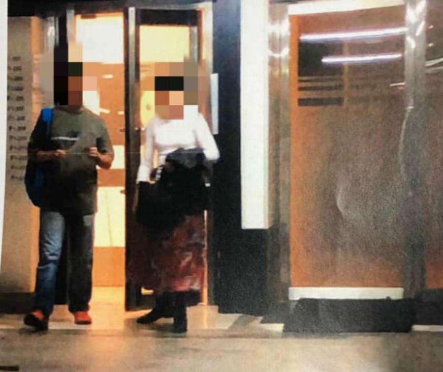 传警司涉嫌带已婚女伴上「安全屋」幽会。网上图片