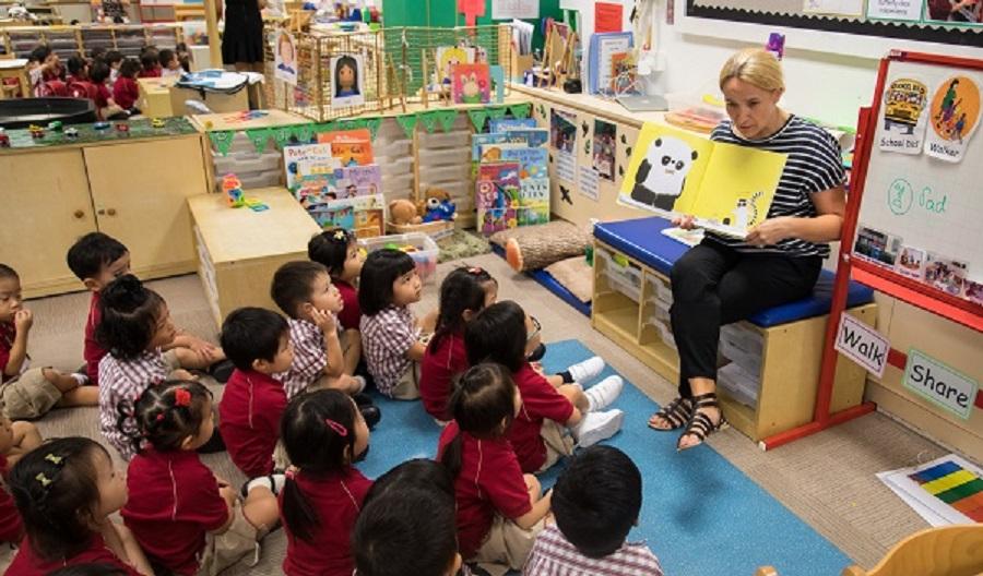 青衣英基幼稚园宣布停课。网上图片