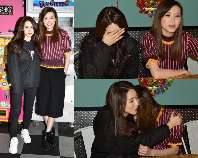 Hana同Jinny夾好口供有備而來,還晒演技。