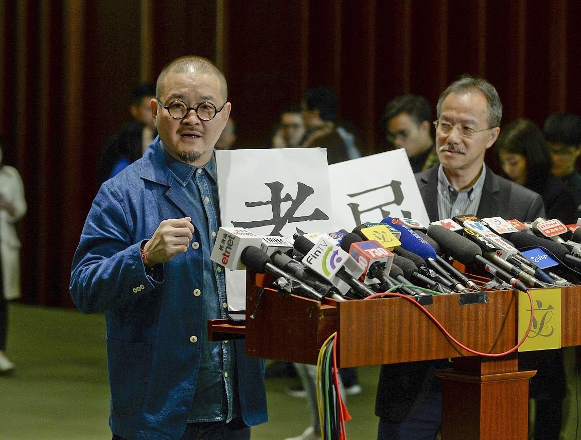 邵家臻呼吁营办机构拒绝社署放宽长者就业援助计划。资料图片