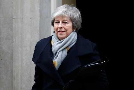 文翠珊与欧盟达成的脱欧协议,今天遭国会以432票对202票否决。