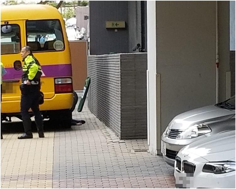 警员到场调查。林思明摄