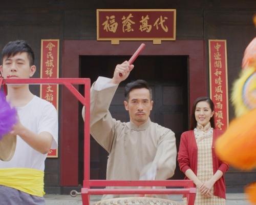 陳豪唐詩詠賀歲微劇場打造一代宗「獅」