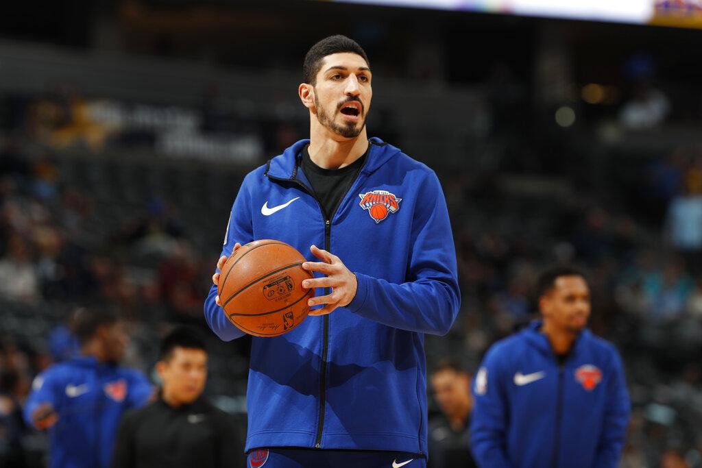 紐約人隊球員坎特。AP圖片