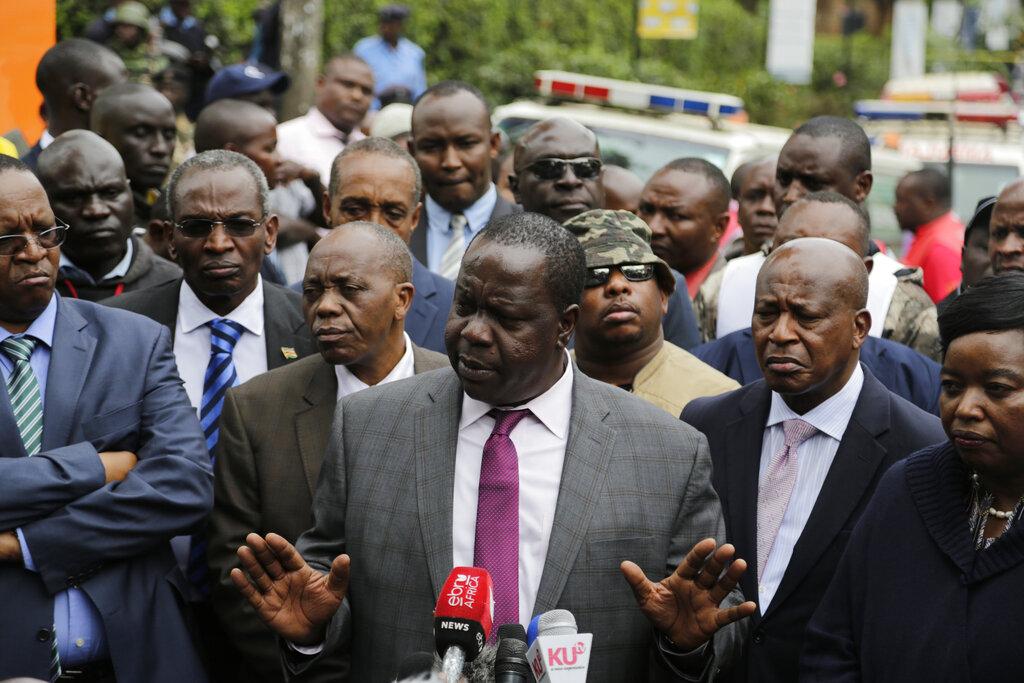 肯尼亚内政部长强调事件得以平息。