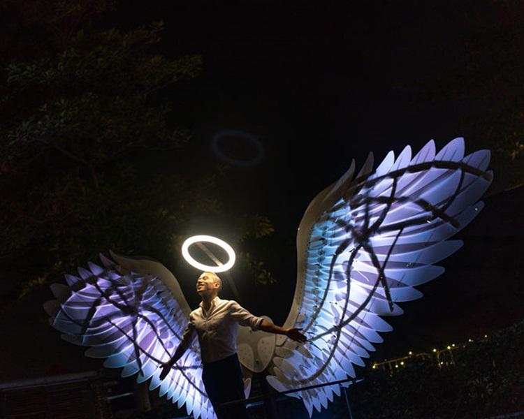 原有受欢迎作品「Angels of Freedom」。旅发局提供