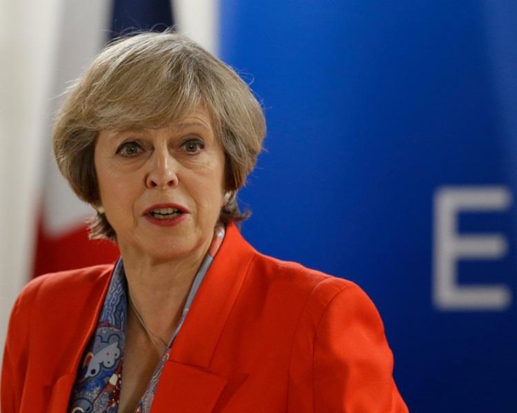 文翠珊缺席世界经济论坛,专心草拟新的脱欧方案。