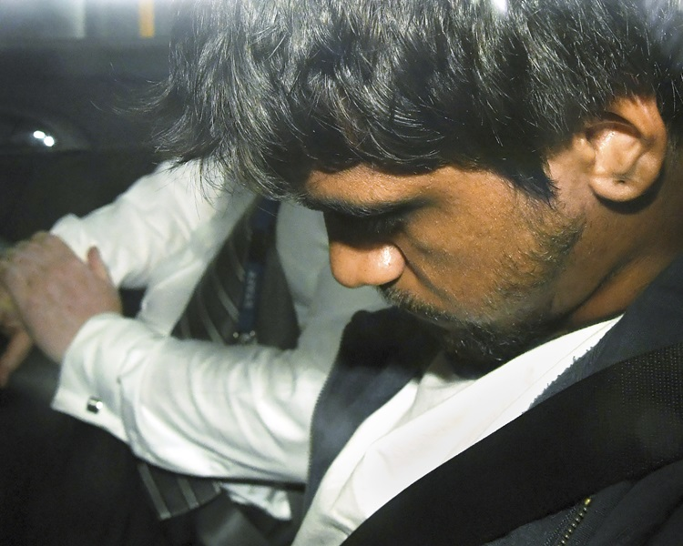 警方今日(18日)拘捕了一名男疑犯。