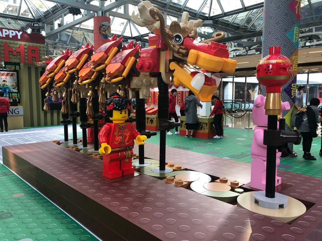LEGO舞龍隊。