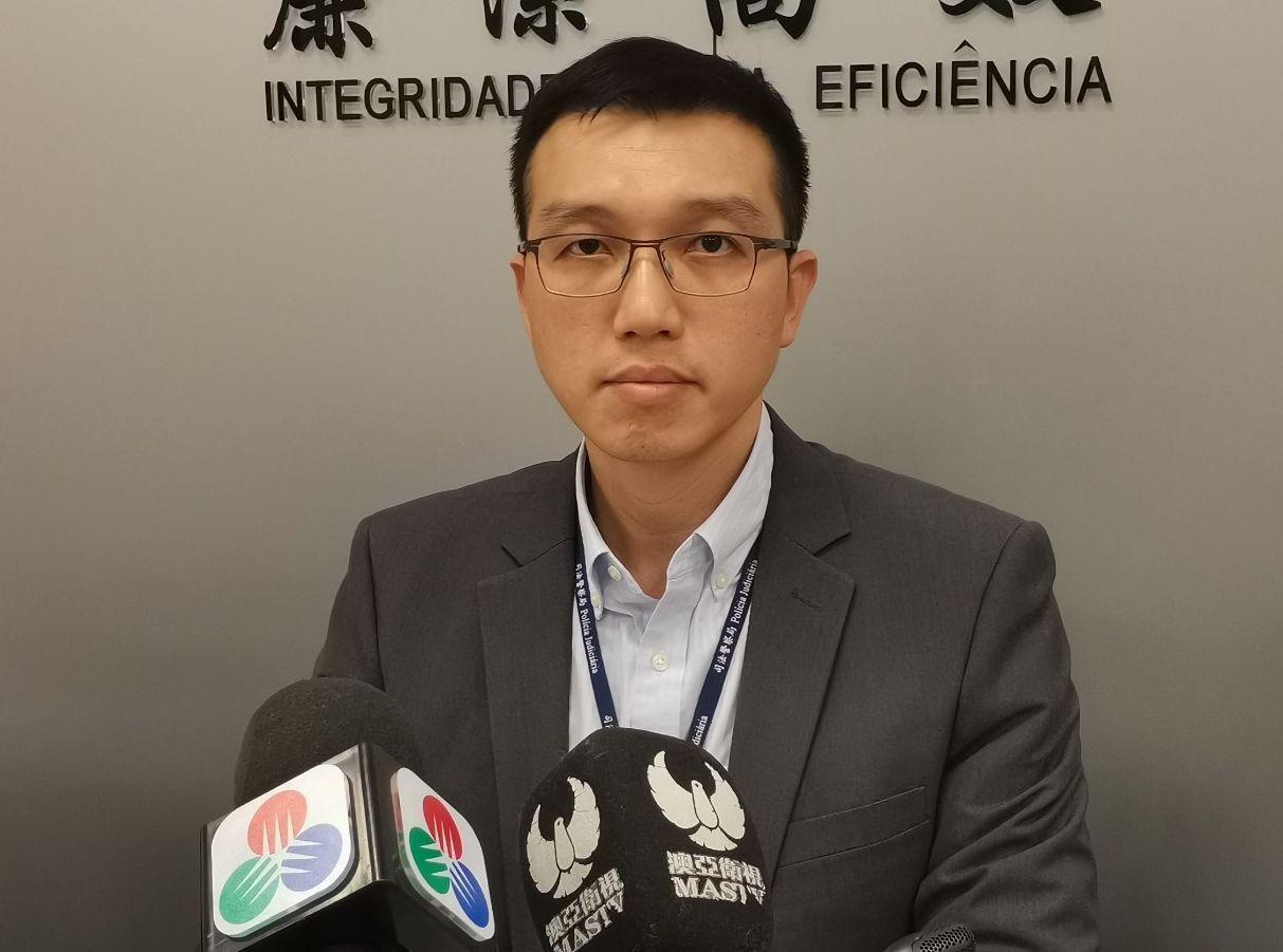 蔡昕暉指,司警局共接獲30名事主報案,當中包括一名香港居民。