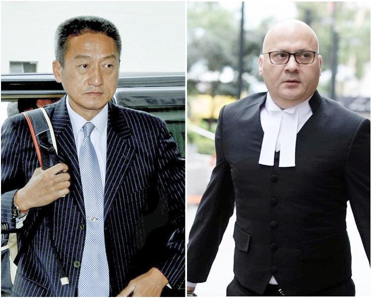 彭彼得(右)相信朱經緯會對裁決感到失望,但會予以尊重。