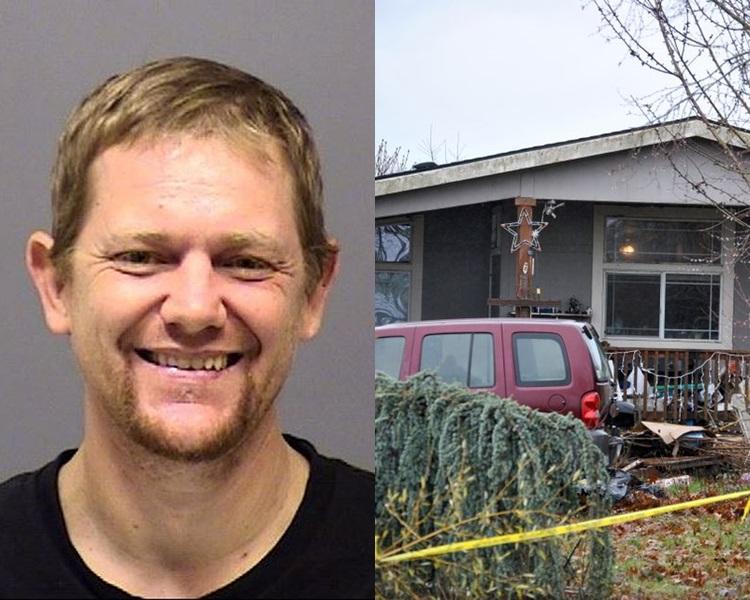 42歲男子加戈( Gregory Gago)在家中將父母、女友及女兒殺死。網圖