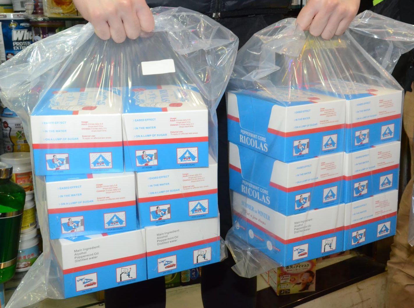 海關在店鋪中亦檢獲另外391枝影射藥物,涉及貨值約1.9萬元。