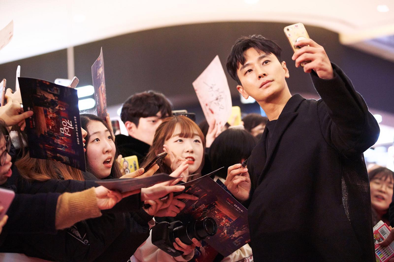 在場大部分粉絲都是朱智勛fans。