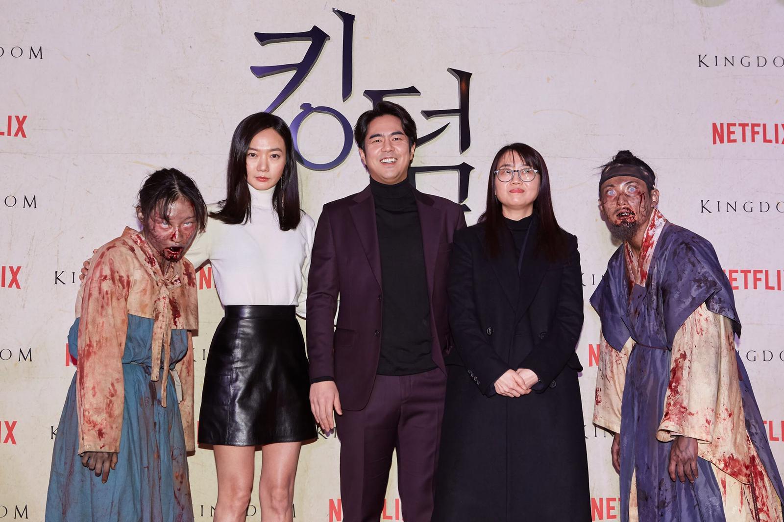 大會再安排喪屍到場嚇fans及其他出席首映的嘉賓。