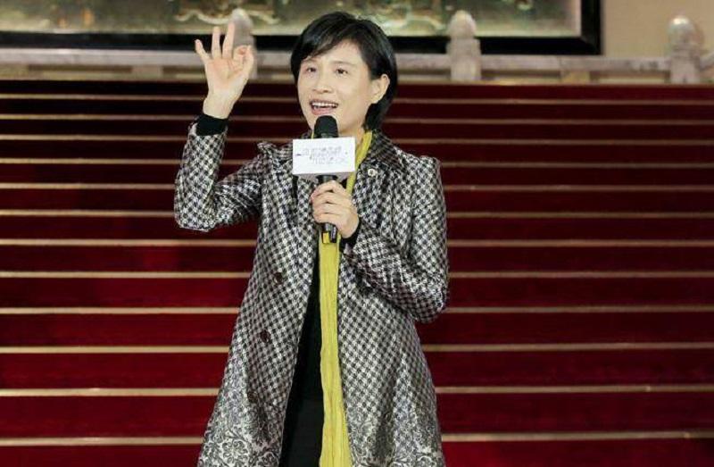 郑丽君出席关怀演艺人员春节餐会。网上图片
