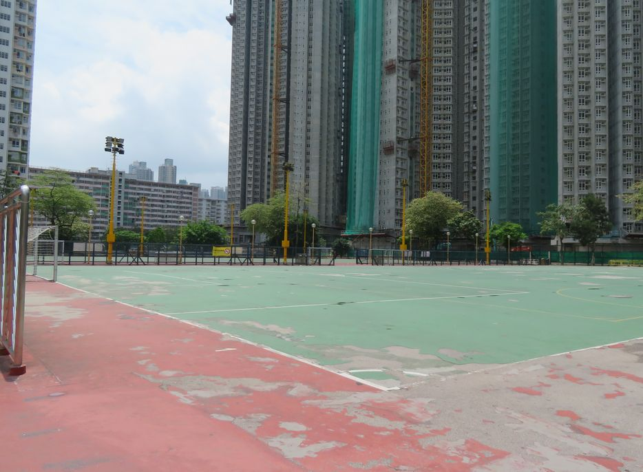 長沙灣遊樂場。資料圖片