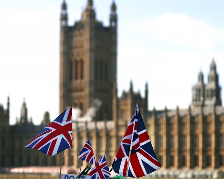 英国脱欧陷僵局。AP